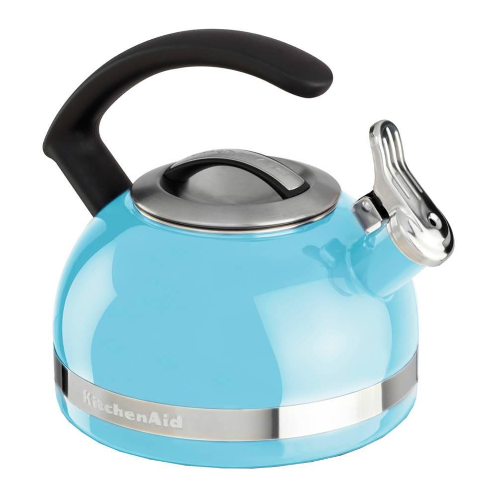 Chaleira com apito KitchenAid 1,9L Cameo Blue - KI963AZ - 21x19,8 cm