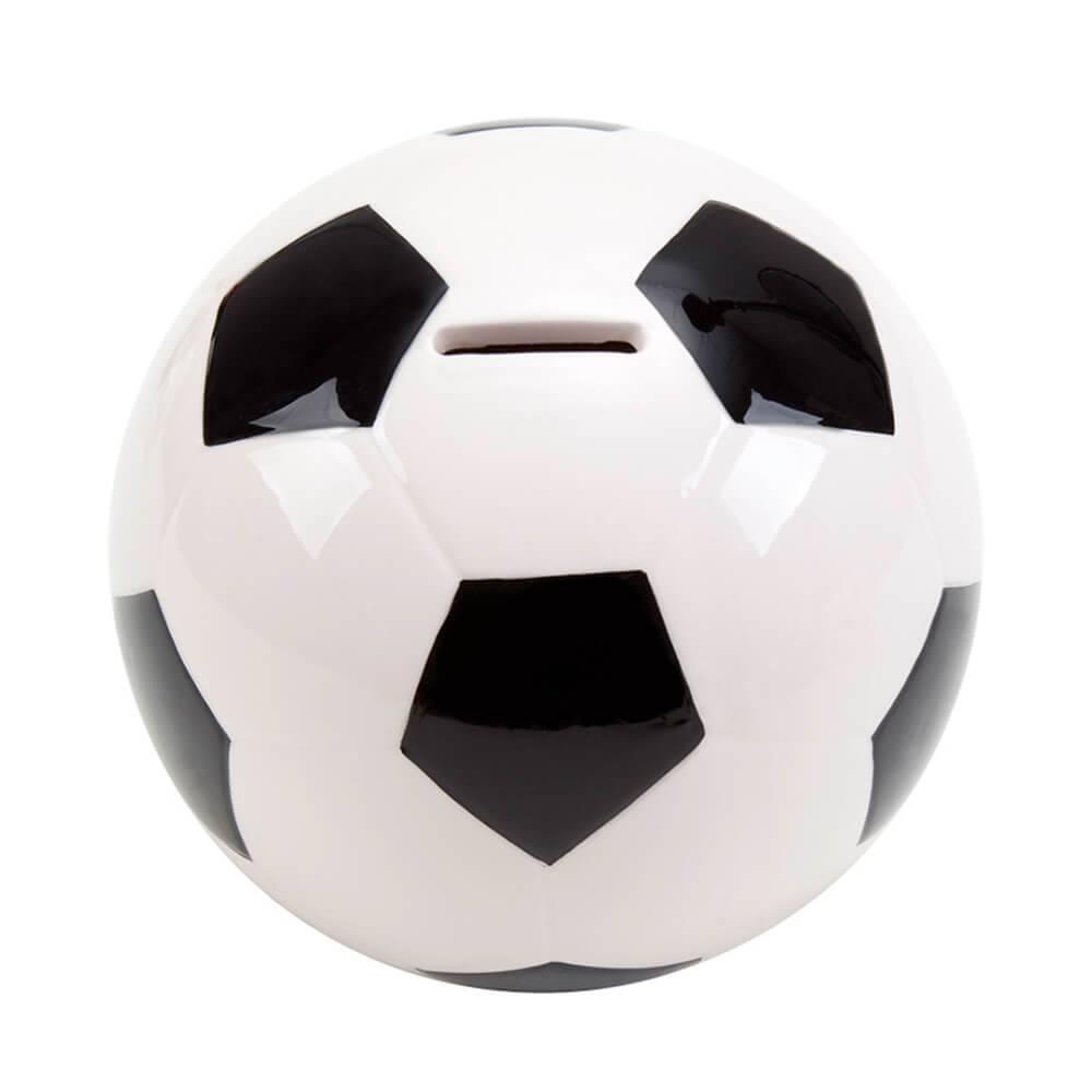 Cofre Bola de Futebol Grande em Cerâmica - Urban - 14 cm