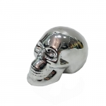 Cofre cerâmica caveira prata