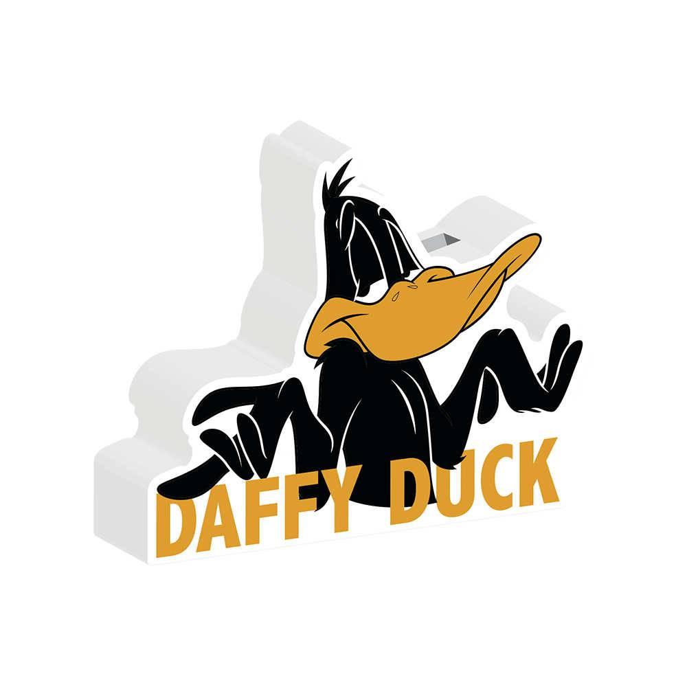 Cofre Decorativo Looney Tunes Daffy Duck Preto em Cerâmica - Urban - 24x20 cm