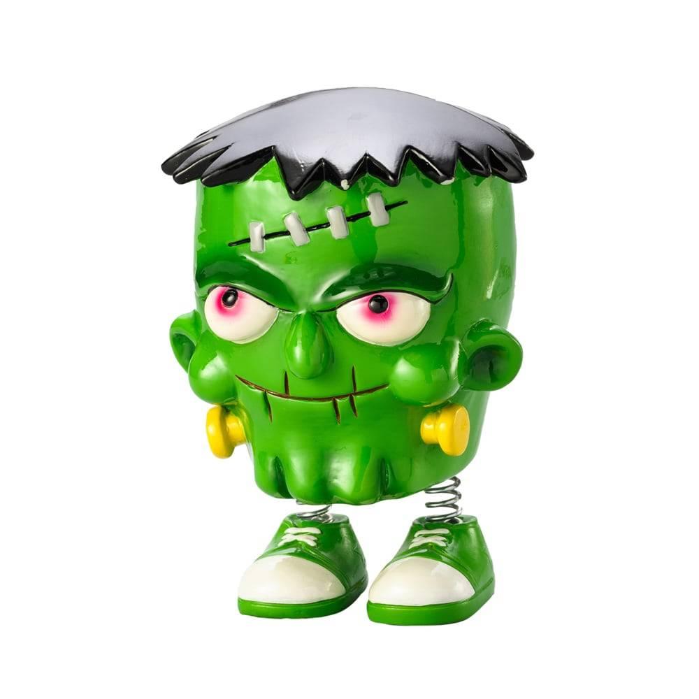 Cofre Divertido Monstro Verde em Poliresina - Lyor Design - 15,5x11 cm