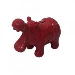 Cofre hipopótamo vermelho