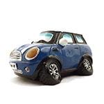 Cofre / Miniatura Carro de Corrida