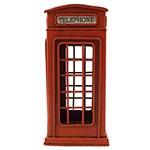 Cofre / Miniatura Telefone Inglês