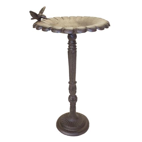 Comedouro Pássaros Marrom Greenway em Metal - 60x33 cm