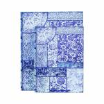 Conjunto 2 Book Box Azulejo Azul Oldway - 30x24 cm