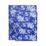 Conjunto 2 Book Box Floral Azul Oldway - 30x24 cm