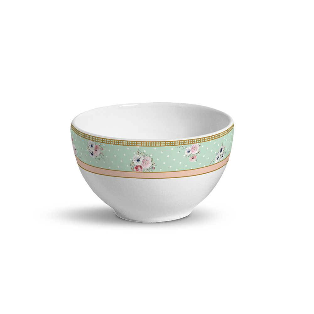 Conjunto 6 Bowls Amore 600 ml em Cerâmica - Porto Brasil - 13,5x8 cm