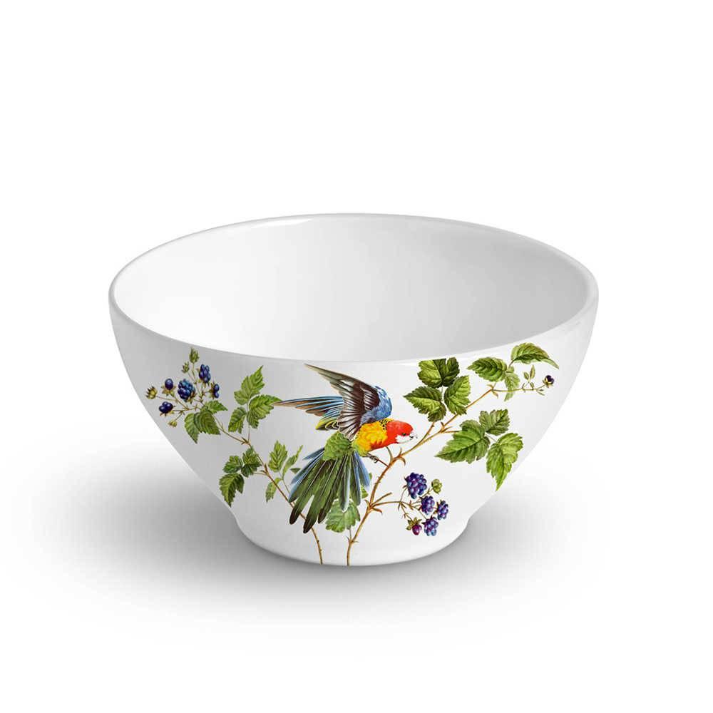 Conjunto 6 Bowls Mônaco Berry 420 ml em Cerâmica - Porto Brasil - 12,5x6,5 cm