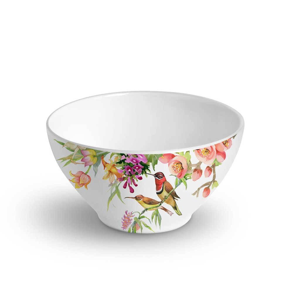 Conjunto 6 Bowls Mônaco Paradise 420 ml em Cerâmica - Porto Brasil - 12,5x6,5 cm