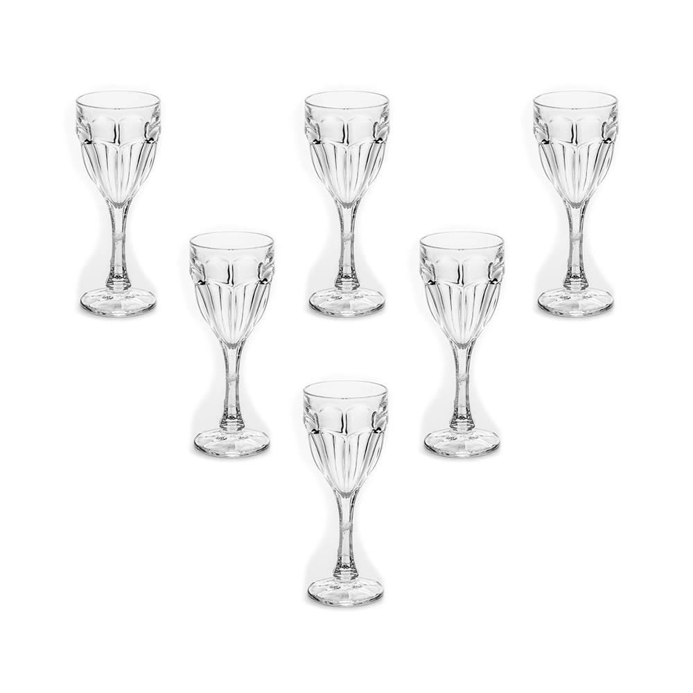 Conjunto de 6 Taças para Licor Safari em Cristal 50 ML - Bohemia