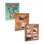 Conjunto de Álbuns Viagem - 600 Fotos - Capa Dura Impressa