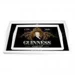 Conjunto de Bandejas Guinness Preta - 2 Peças - em MDF