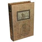 Conjunto Book Box 2 Peças Bicicleta Oldway - 33x23 cm