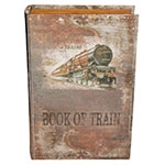 Conjunto Book Box 2 Peças Seda Book Train Oldway - 33x22 cm