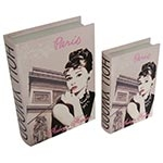 Book Box Audrey Hepburn Hollywood on Set Collection