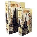 Conjunto Book Box Eiffel Hotel Seda Oldway