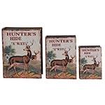 Conjunto Book Box Hunters Hide Oldway