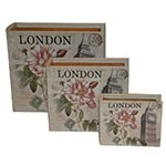 Conjunto Book Box London Flor Oldway