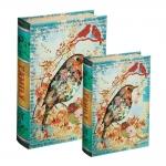 Conjunto Book Boxes - 2 Peças - Classic Bird Multicolorido