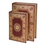 Conjunto Book Boxes - 2 Peças - Tehran em Madeira