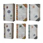 Conjunto Book Boxes - 6 Peças - Correspondência