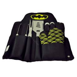 Conjunto p/ Churrasco DC Comics Batman Logo Preto e Amarelo R$ 319,90 R$ 229,90 4x de R$ 57,48 sem juros