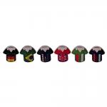 Conjunto Cofres Camisas da Copa - 6 Peças - em Cerâmica