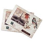 Conjunto Jogo Americano Bird Selo Paris Fullway