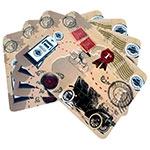 Conjunto de Jogo Americano Calhambeque em MDF - 4 peças - 30x40 cm