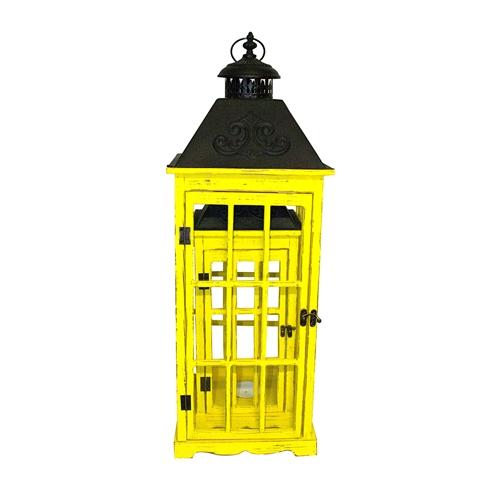 Conjunto de Lanternas - 3 Peças - Amarelo Colors Oldway - 87x32 cm