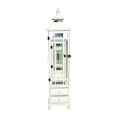 Conjunto de Lanternas - 3 Peças - White Lockers Oldway - 135x32 cm