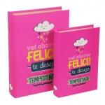 Conjunto Livro Caixa Felicidade