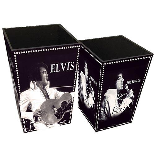 Conjunto de Lixeiras Elvis Hollywood on Set Collection Vell Chic - 40x26 cm