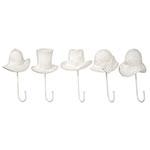 Conjunto de Penduradores Chapéus