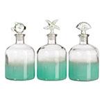 Conjunto de Perfumeiras Grandes - 3 Peças - Praia