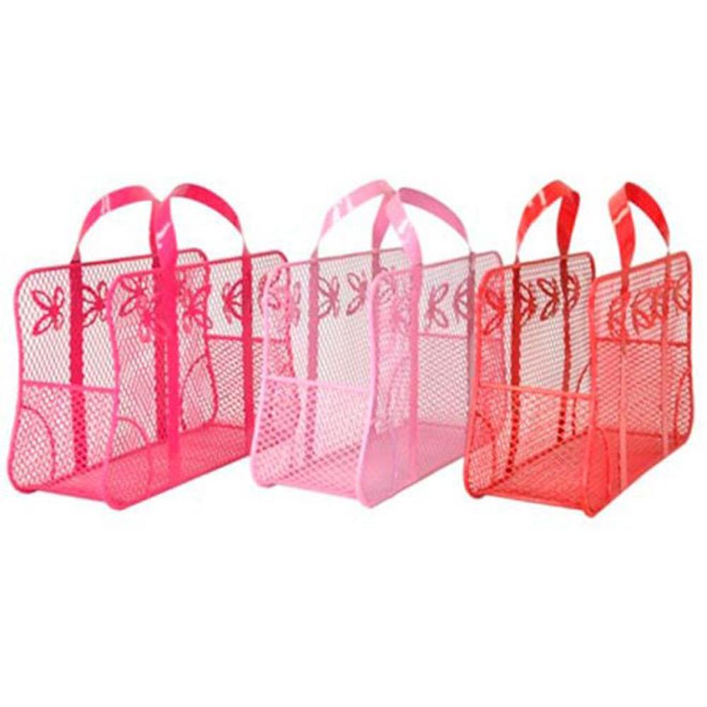 Conjunto Porta Joias Bolsas Dorothy - 3 Peças - Coloridas em Metal - 18x18 cm