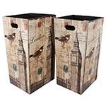 Conjunto de Porta Objetos/Guarda Chuva Bird Big Ben Oldway - 58x31 cm