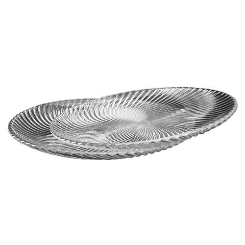 Conjunto de Pratos Kamenz - 2 Peças - em Vidro - 32x3 cm