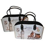 Conjunto Revisteiro London Fullway - 38x23 cm