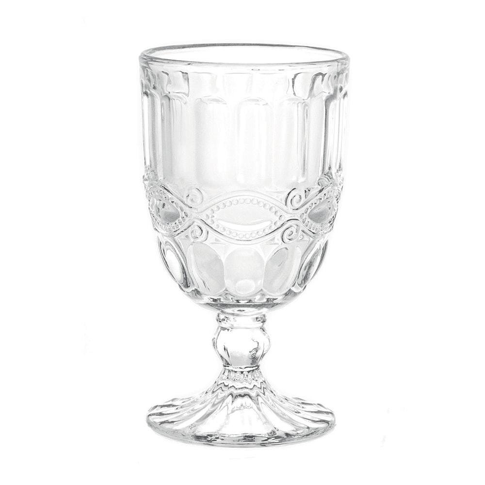 Conjunto Taças para Água Cristal - 6 Peças - em Vidro - 14,5x8 cm