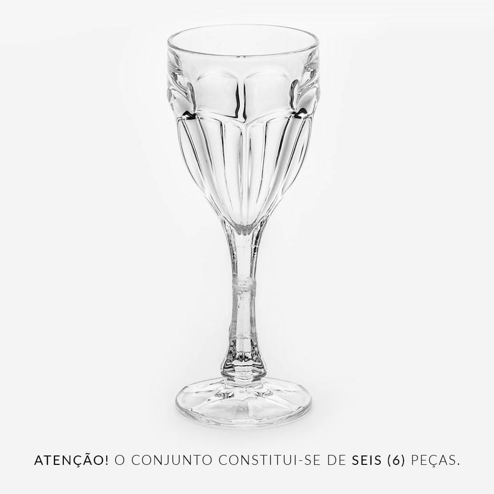 Conjunto Taças para Água Safari - 6 Peças - 290 ml - em Cristal - Bohemia