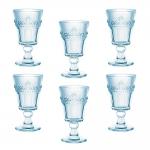 Conjunto Taças Celestina para Água - 6 Peças - em Vidro