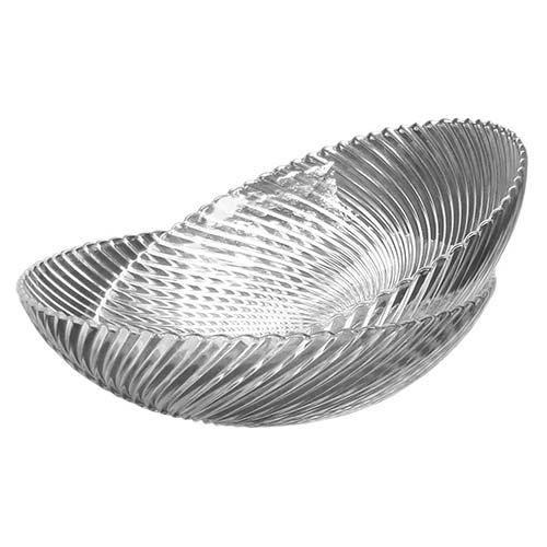 Conjunto de Tigelas Kamenz Transparente - 2 Peças - em Vidro - 29x8 cm