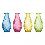 Conjunto Vasos Pop - 4 Peças - Coloridas em Vidro