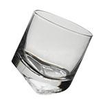 Copo Slant Transparente em Vidro