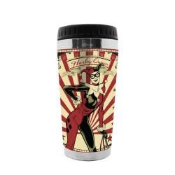 Copo Térmico DC Comics Harley Quinn 473 ml Urban - 18x8,3 cm