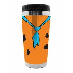 Copo Térmico Hanna Barbera Flintstones Fred Laranja - Urban