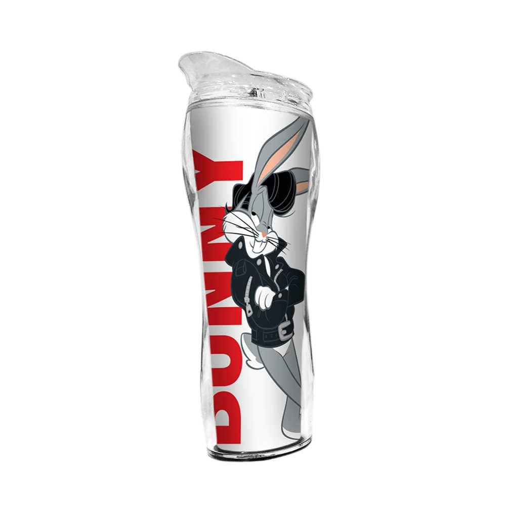 Copo Térmico Silhouete Looney Tunes Bugs Bunny Charming - 400 ml - em Polipropileno - Urban - 22,5x7,3 cm