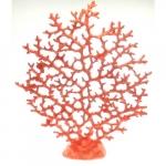 Coral resina laranja rosado